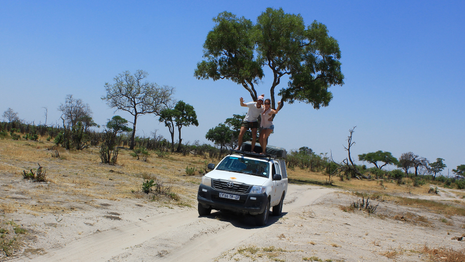 Starting our trip with our new mate on wheels and visit the most beautiful hidden places, spotting the big five and make friends with the locals.