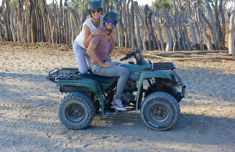 2 days quad tour over the Nwetwe Pan.
