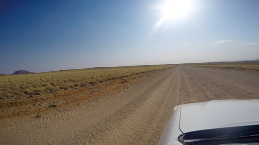 On our way to Kamanjab.