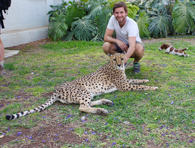 Unforgettable experience to see these beautiful animals so closeby @cheetahfarm.