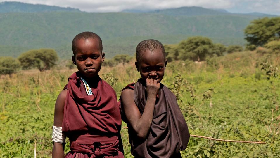 Masai Childeren.