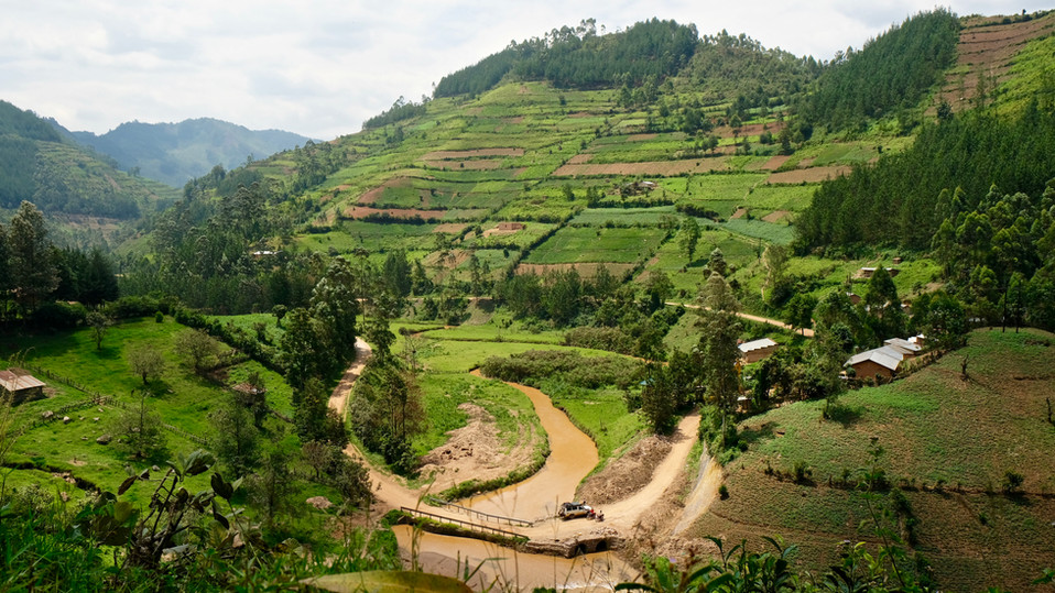Most amazing landscape in #bwindi in #uganda! So the #gorillatrekking is not the only highlight you can expect there!