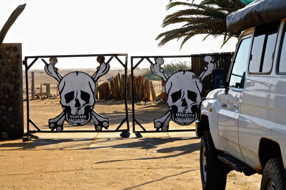Gate to Skeleton Coast.