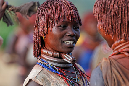 First wife at the Hamar tribe.