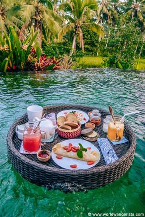 Breakfast in Ubud Resort