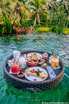 Breakfast in Ubud Resort