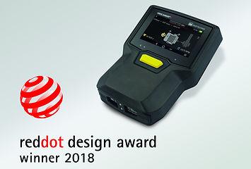 Vibscanner 2 reddot design award winner 2018