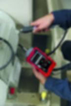 Sonochek ultrasonik test ölçümü