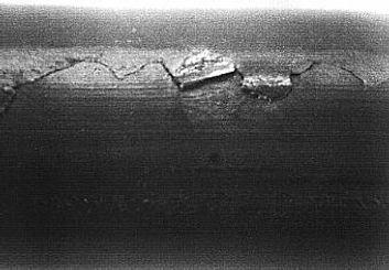 tel vefilmaşin üzerinde tespit edilen hata