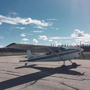Cessna 180 Trek Aerial Surveys Plane