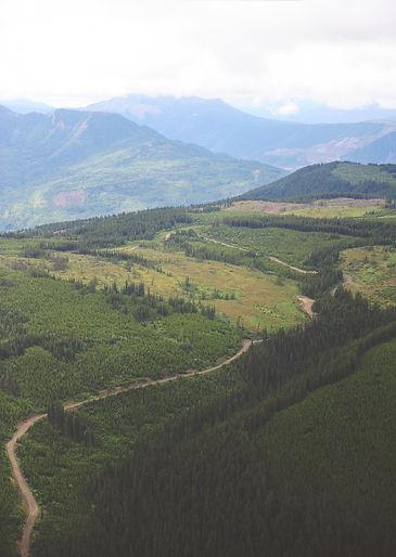 British Columbia Oilfield Road