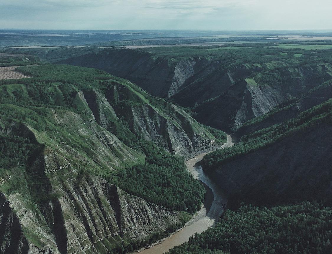 Kiskatinaw River BC