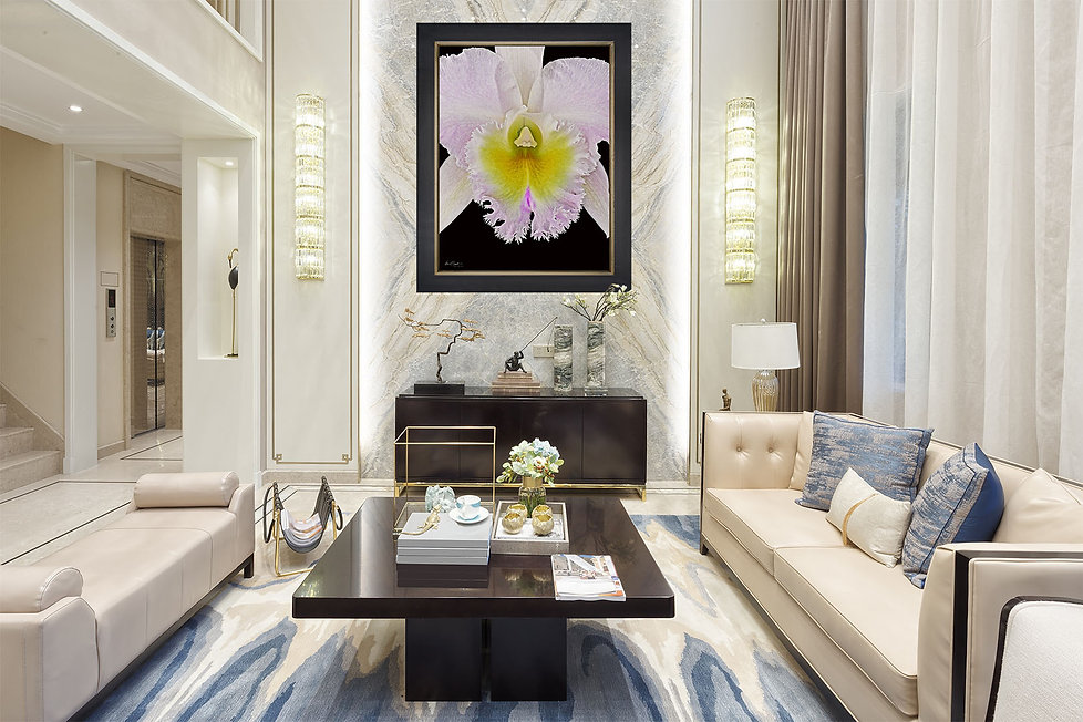 Kevin G Saunders Fine Art Orchid Collection