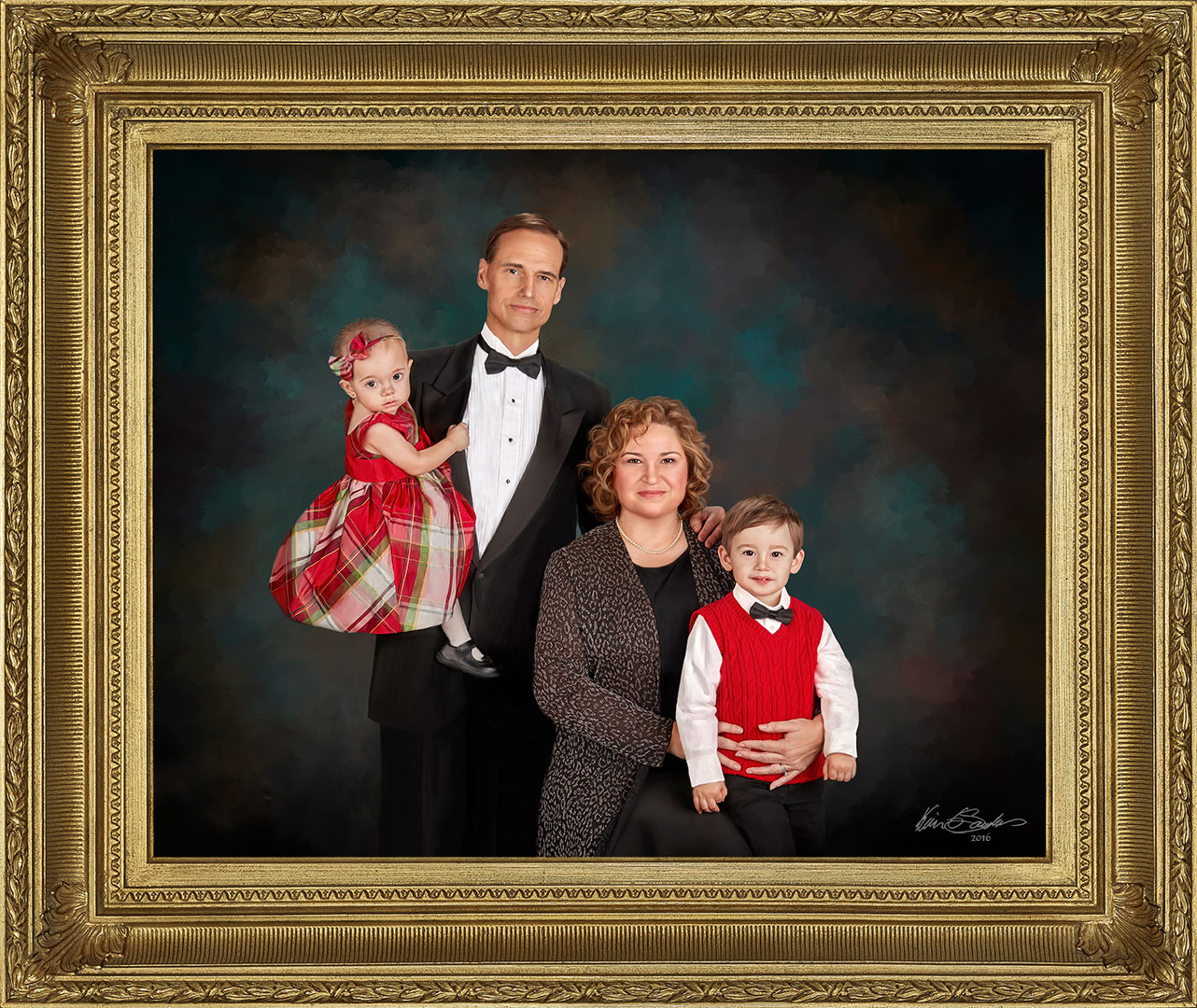 Heirloom Family Portrait