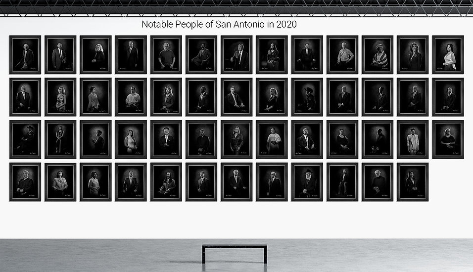 Notable People of San Antonio in 2020 Portrait Collection