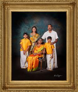 Family Portrait Signature