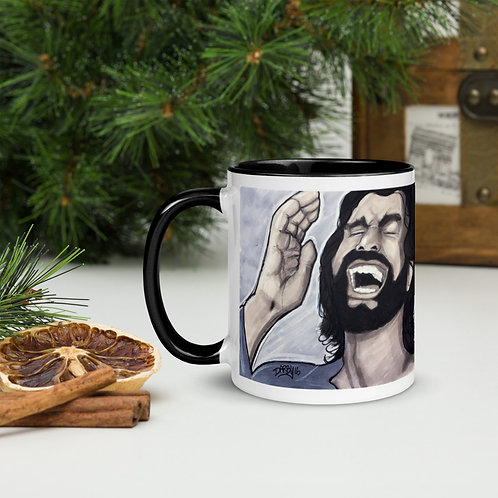 Laughing Jesus Mug (with Color Inside)