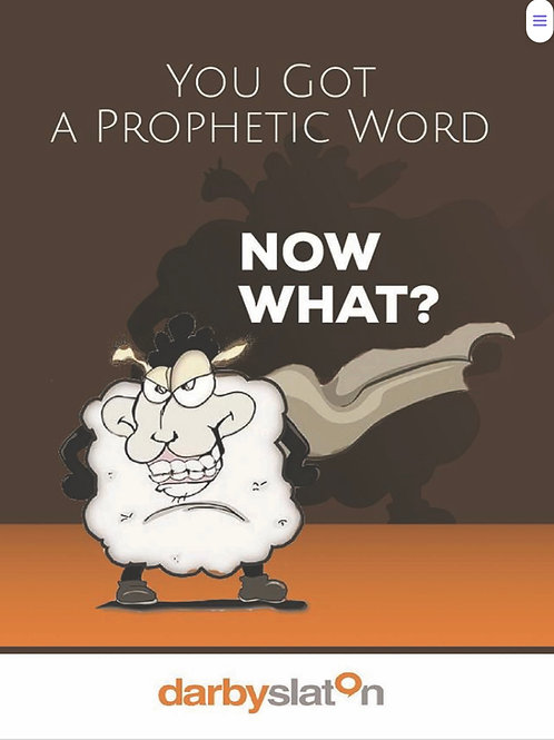 You Have A Prophetic Word Now What-ebook