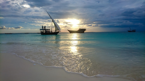 Dhow in Sunset