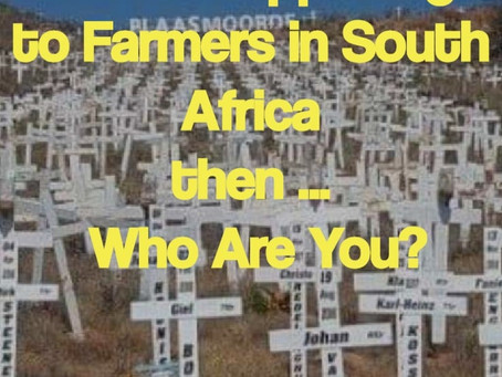 What Are You Doing to Stop Farm Murder in Rural South Africa?