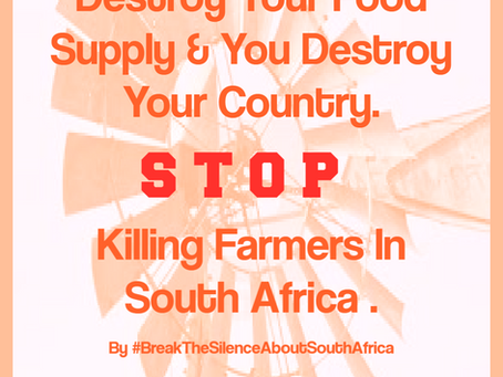 Ethnic Cleansing Exists in South Africa. By Albie Geldenhuys.