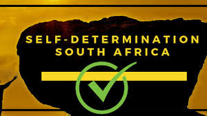 The South African Constitution guarantees the right to self determination.