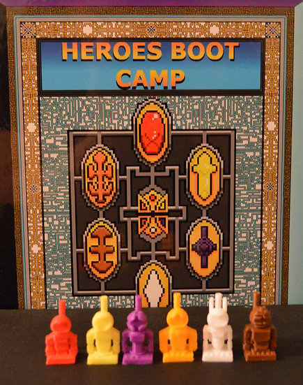 S.N.A.P.S. Heroes Boot Camp - Minifigures