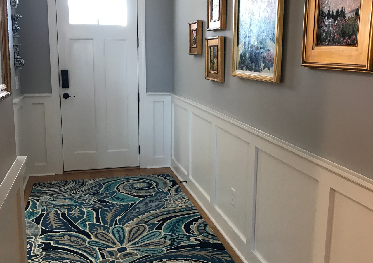 Brunswick Forest Blue on Blue Entryway