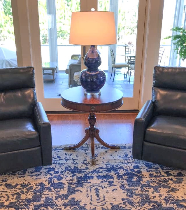 Classic Comfort in Blue