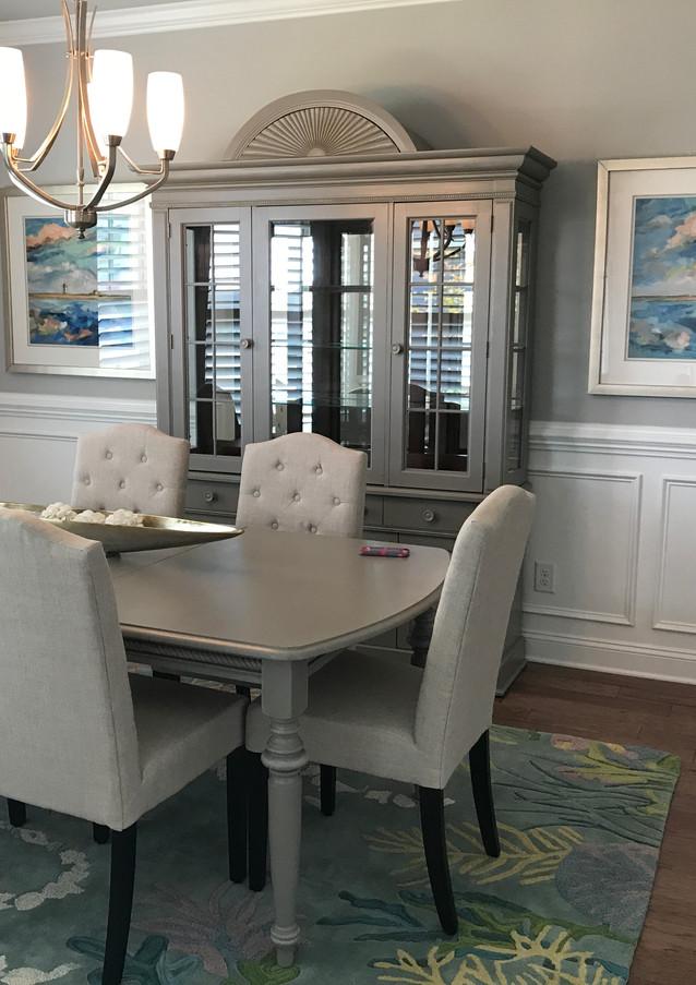 Brunswick Forest Coastal Dining Room