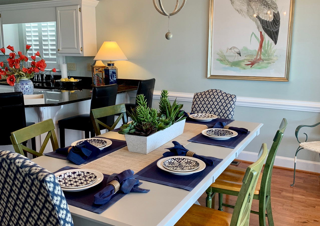 Holden Beach Cottage Dining