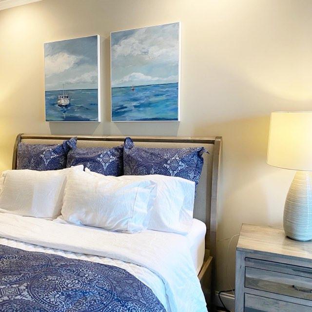 Coastal Master Bedroom