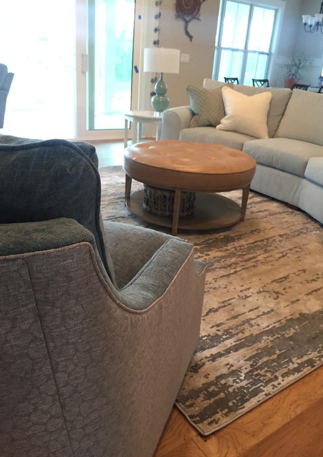 Artistic Casual Living Room