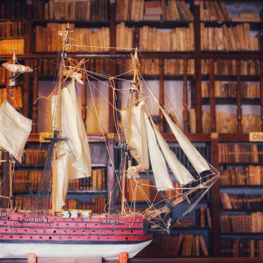 La Recoleta - die Bibliothek