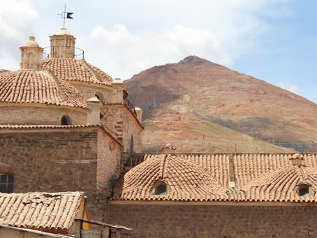 In der Silbermine in Potosi *Bolivien*