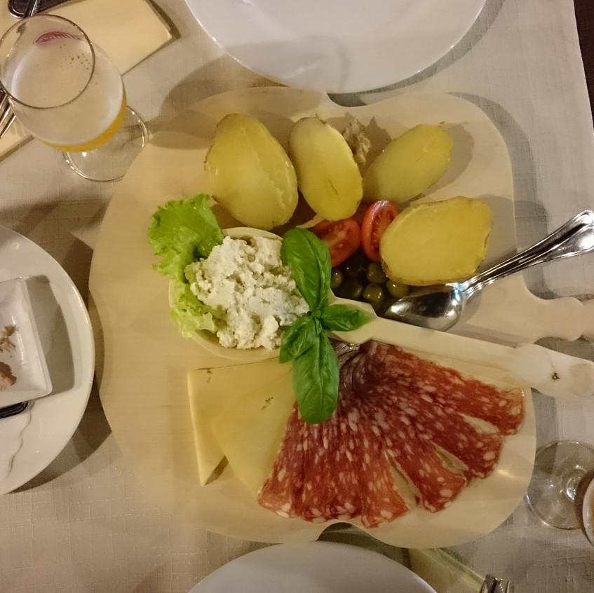Spezialitäten aus Bovec
