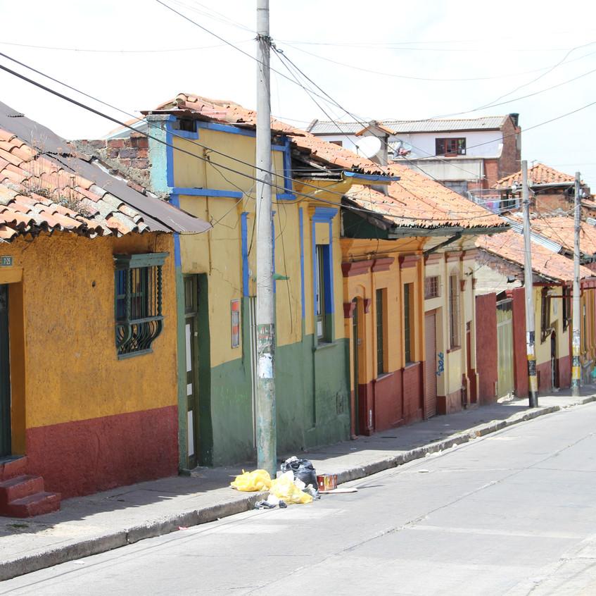 Straßen von Bogotá