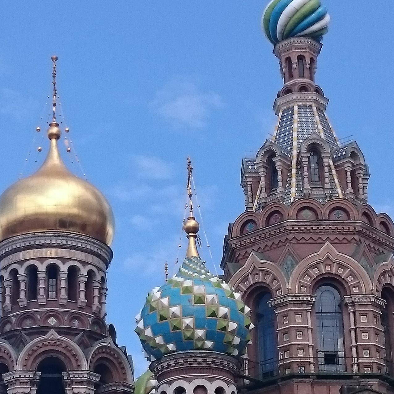 Kuppeln der Auferstehungskirche