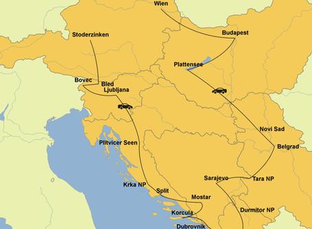 Roadtrip durch den Balkan - Teil 1