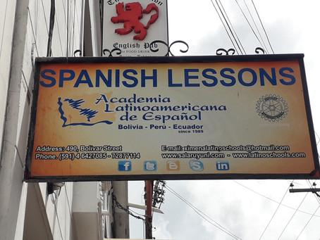 Spanischunterricht in Sucre *Bolivien*