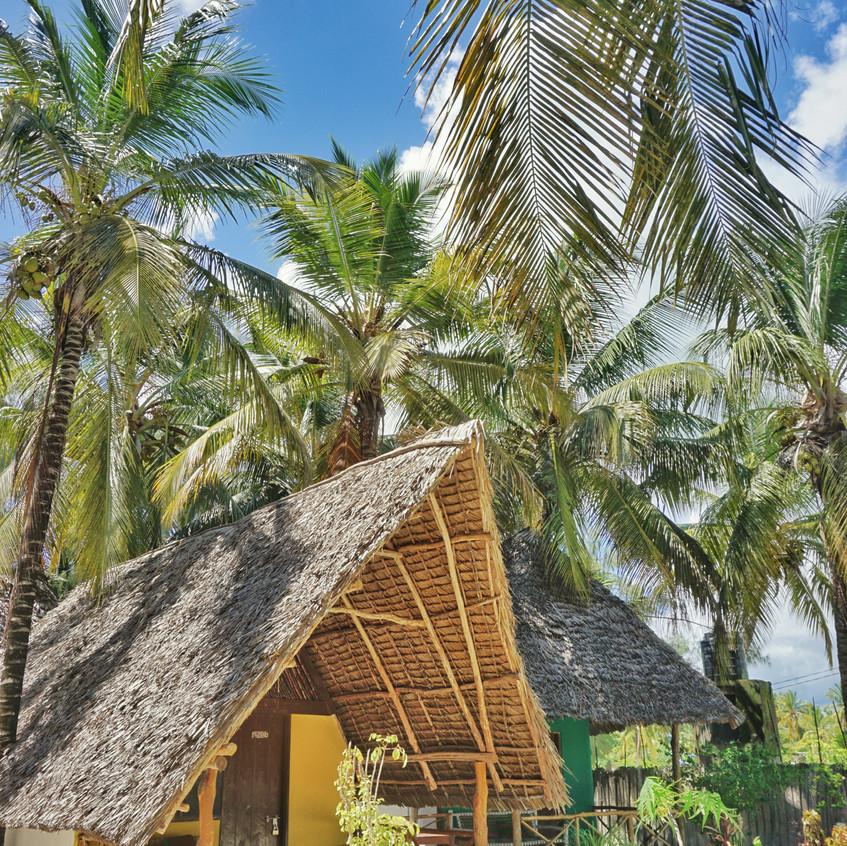 Lodge auf Sansibar, Tansania