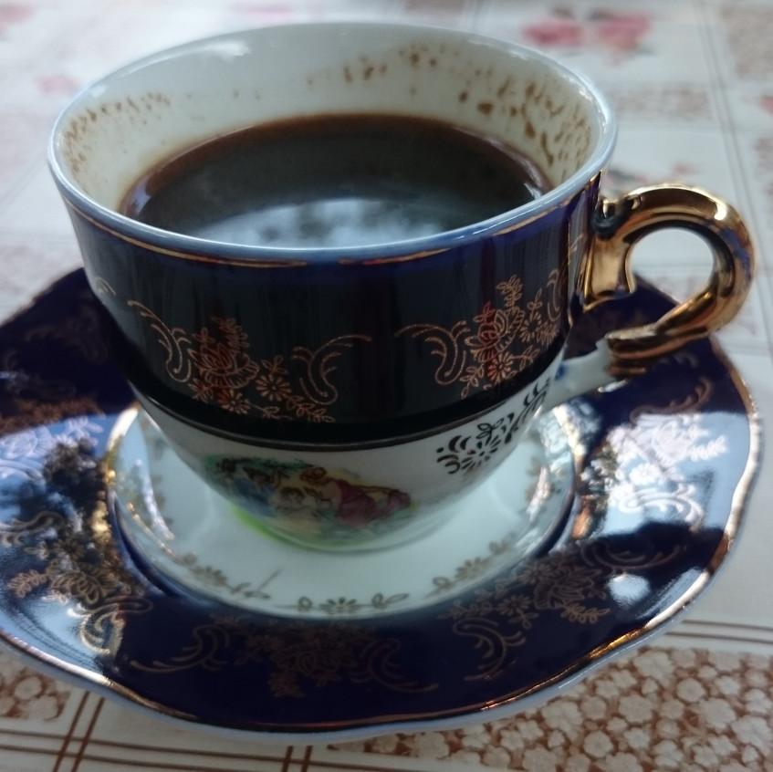 Kaffee im Hostel