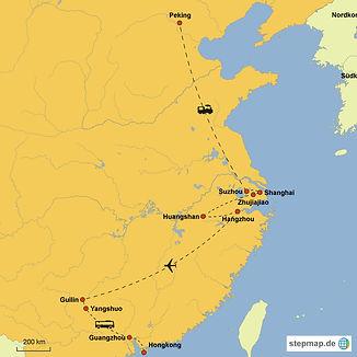 Route China Rundreise