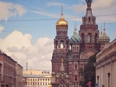 Privet, Sankt Petersburg!