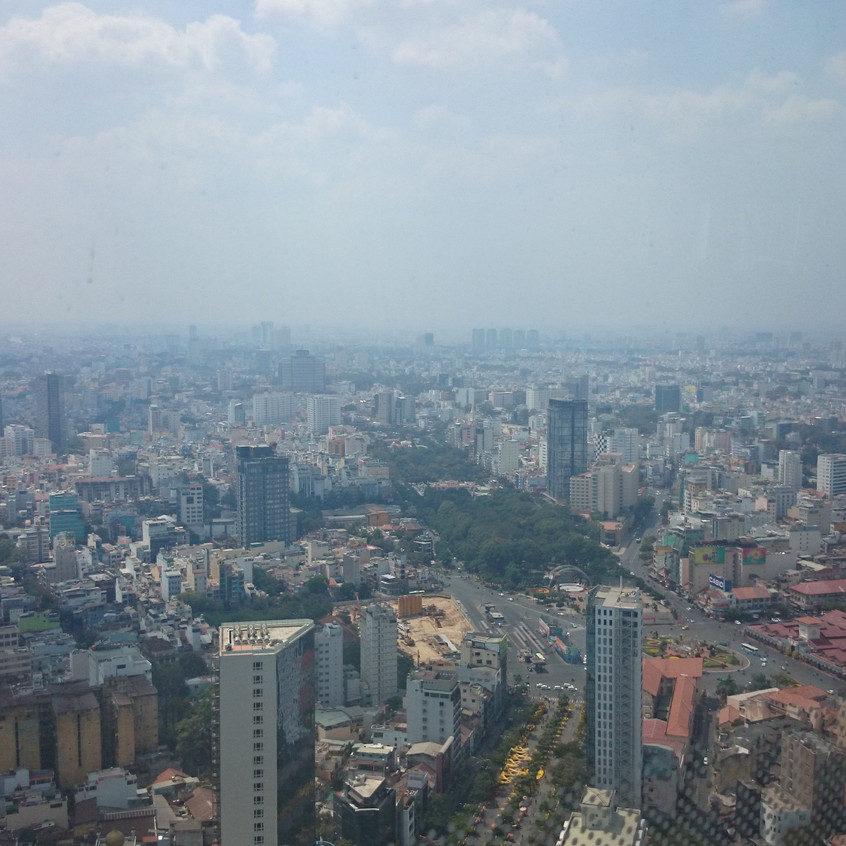 Blick vom Bitexco-Tower