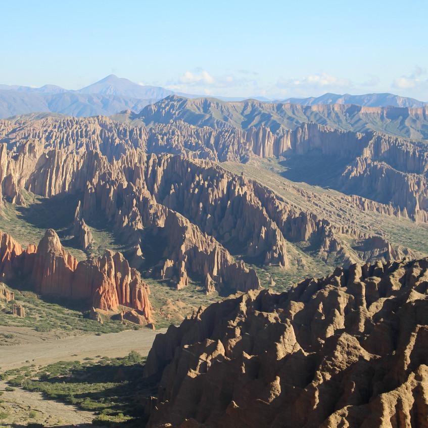 Bergwelt westlich von Tupiza