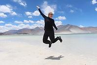 Betti in der Atacama Wüste Chiles - Sprung ins Leben