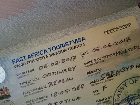 Visum für Uganda und Kenia - so einfach geht's!