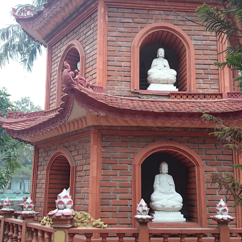 Tran Quoc Pagode am Westsee