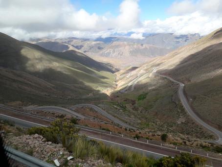 Andenüberfahrt von San Pedro de Atacama nach Argentinien